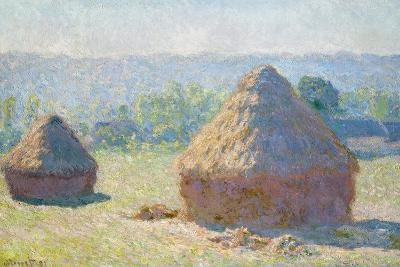 Haystacks, 1891-Claude Monet-Giclee Print