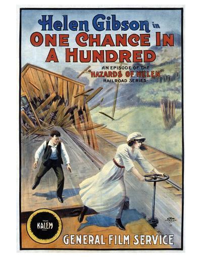 Hazards Of Helen - 1915--Giclee Print
