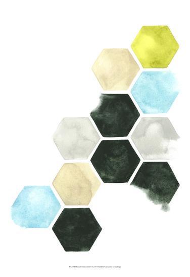 Hazed Honeycomb I-Grace Popp-Art Print