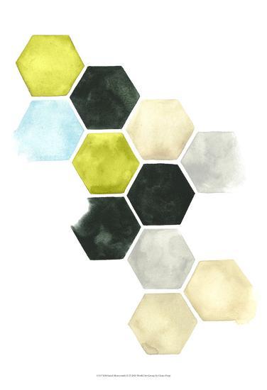 Hazed Honeycomb II-Grace Popp-Art Print