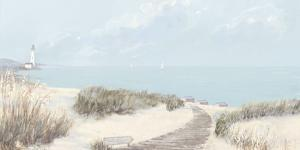 Calm in Blue Haven Bay I by Hazel Barker