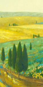 Tuscan Landscape I by Hazel Barker