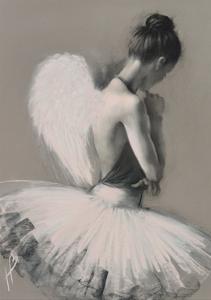 Angel Wings II by Hazel Bowman