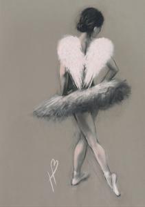 Angel Wings III by Hazel Bowman