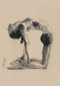 Camel Pose by Hazel Bowman