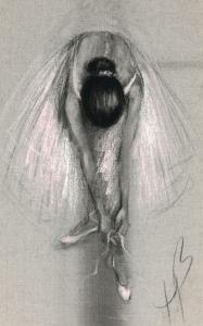 Ruban Rose by Hazel Bowman