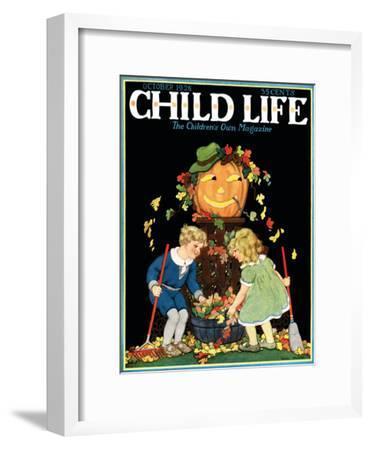 Fall Harvest - Child Life, October 1928