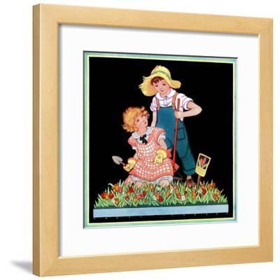 Planting Hyacinth - Child Life