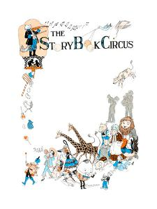 The Story Book Circus - Child Life by Hazel Frazee