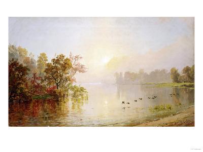 Hazy Afternoon, Autumn, 1873-William Bradford-Giclee Print