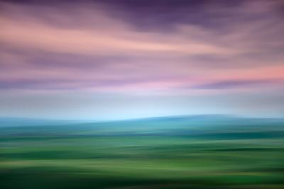 Hazy Palouse Evening-Ursula Abresch-Photographic Print