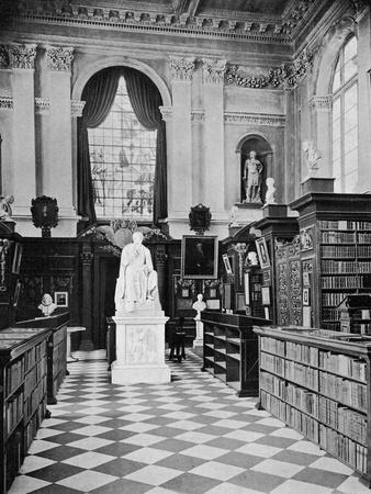 Lord Byron's Statue, Trinity College Library, Cambridge, 1902-1903