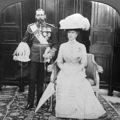 King George V (1865-193) and Queen Mary (1867-195), Early 20th Century