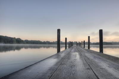 HDR of Sunrise on Lake Okoboji-dosecreative-Photographic Print