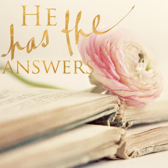 He has the Answers-Sarah Gardner-Photo