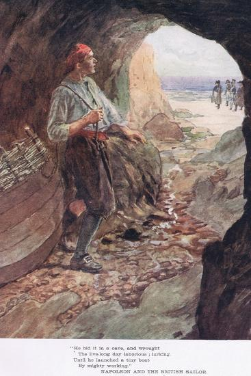 He Hid it in a Cave-William Rainey-Giclee Print