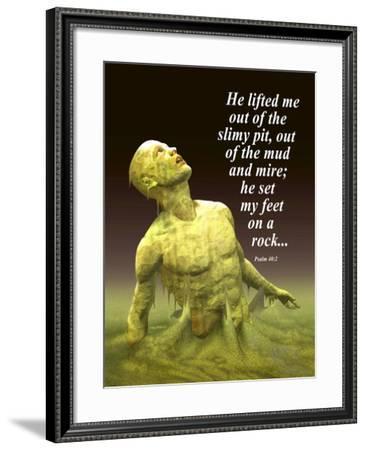 He Lifted Me-Nate Owens-Framed Giclee Print
