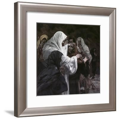 He That Has Seen Me, Has Seen the Father-James Tissot-Framed Giclee Print