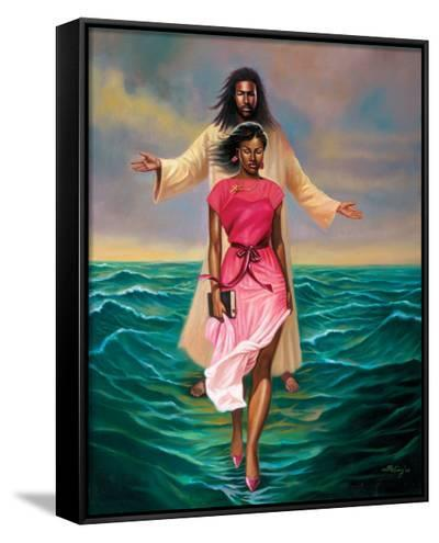 He Walks with Me-Sterling Brown-Framed Canvas Print