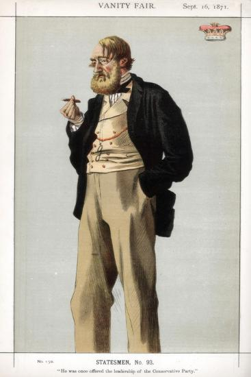 He Was Once Offered the Leadership of the Conservative Party, 1871-Coide-Giclee Print