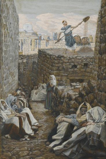 He Who Winnows His Wheat from 'The Life of Our Lord Jesus Christ'-James Jacques Joseph Tissot-Giclee Print