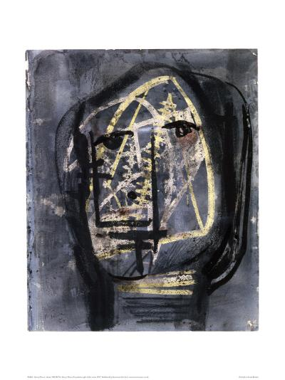 Head, 1950-Henry Moore-Giclee Print
