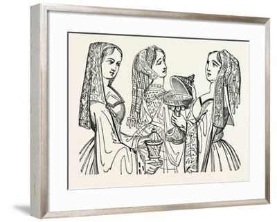 Head Dresses--Framed Giclee Print