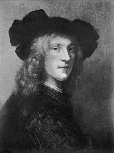 Head from the Portrait of a Man with a Hawk, 1643--Giclee Print