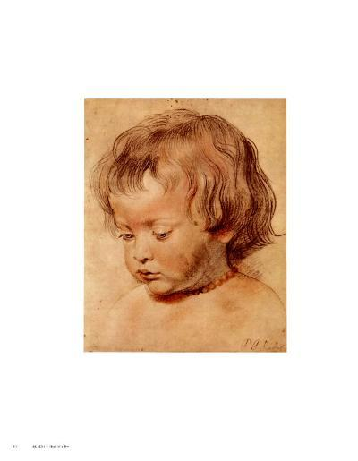 Head of a Boy-Peter Paul Rubens-Art Print