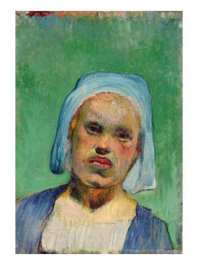 Head of a Breton-Paul Gauguin-Giclee Print
