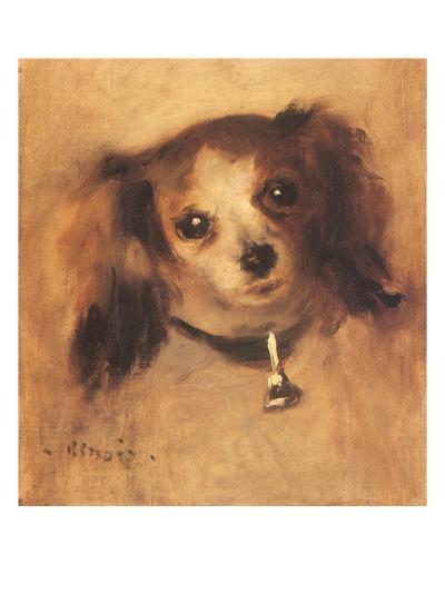 Head of a Dog, 1870-Pierre-Auguste Renoir-Giclee Print