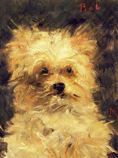 "Head of a Dog - ""Bob"", 1876-Edouard Manet-Giclee Print"