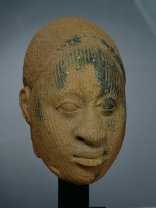 Head of a Figurine, from Ifa, Nigeria, 12th-14th Century