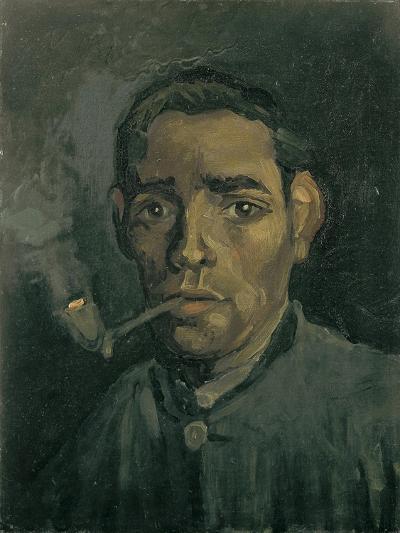 Head of a Man, 1884-1885-Vincent van Gogh-Giclee Print
