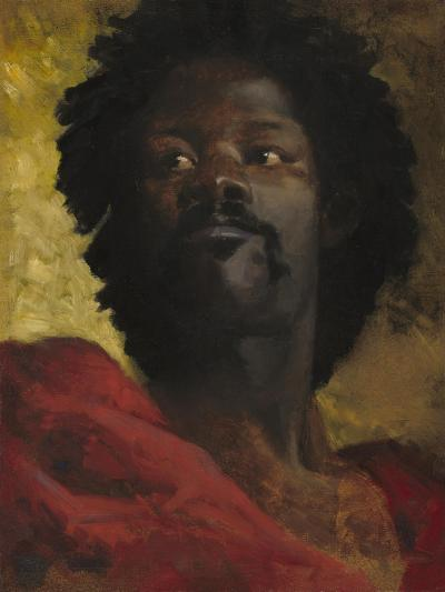 Head of a Moor, c.1870-Henri-Victor Regnault-Giclee Print