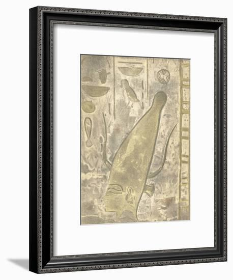 Head of a Scribe--Framed Lithograph