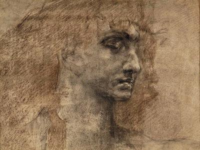 Head of an Angel, 1887-Mikhail Aleksandrovich Vrubel-Giclee Print