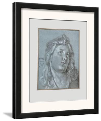 Head of an Angel-Albrecht D?rer-Framed Art Print