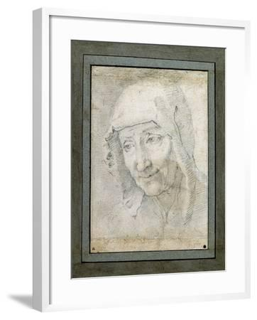 Head of an Old Woman-Jacques Stella-Framed Giclee Print