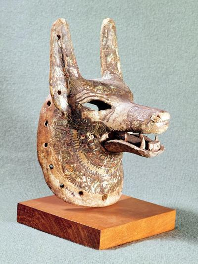 Head of Anubis, with a Hinged Jaw, Used as an Oracle Mask, New Kingdom--Giclee Print