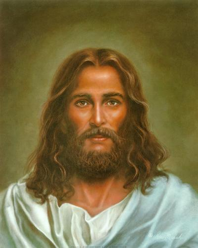 Head of Christ-Ron Marsh-Art Print