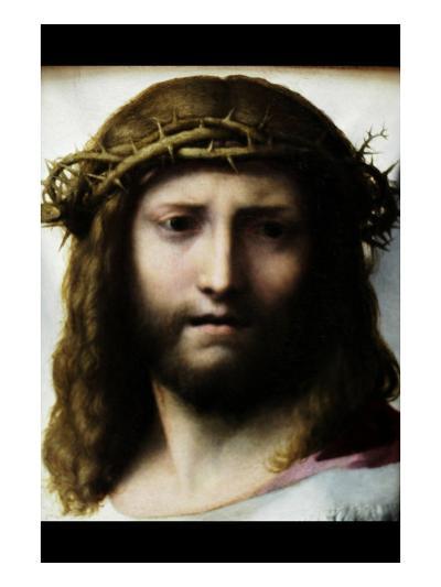 Head of Christ-Antonio Allegri Da Correggio-Art Print