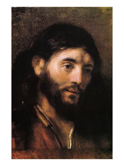 Head of Christ--Art Print