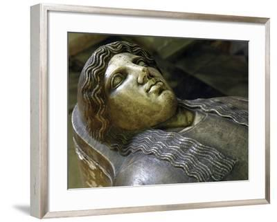 Head of Deceased Person--Framed Giclee Print