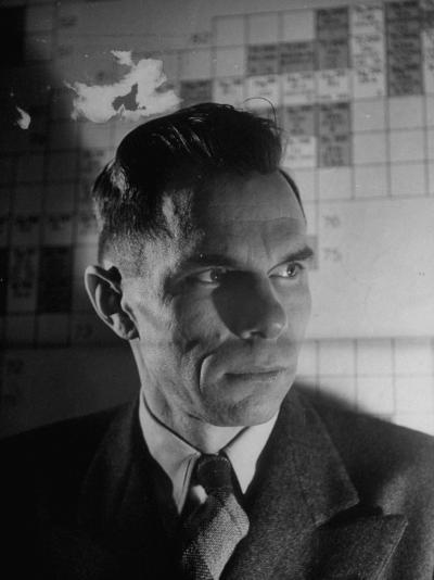 Head of Lab's Plutonium Section Is Dr. Glenn T. Seaborg--Photographic Print