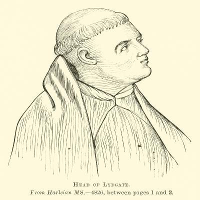 Head of Lydgate--Giclee Print