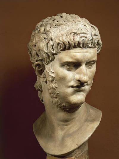 Head of Nero Claudius Caesar Augustus Germanicus--Giclee Print