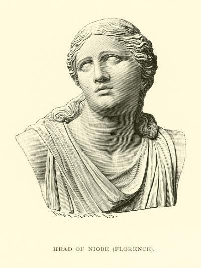 Head of Niobe, Florence--Giclee Print