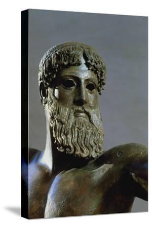 Head of Poseidon, circa 460-450 BC (Detail)