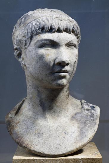Head of Ptolemy King of Mauritania, Son of King Juba II--Giclee Print